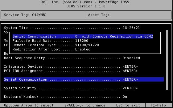 BXadmin:Configure IPMI SOL - CCGB